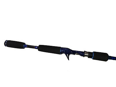 PELAGIC CUSTOM GRAPHITE PRO HYPA-CERVEZA BAITCASTER FISHING ROD 6FT 3-6kg