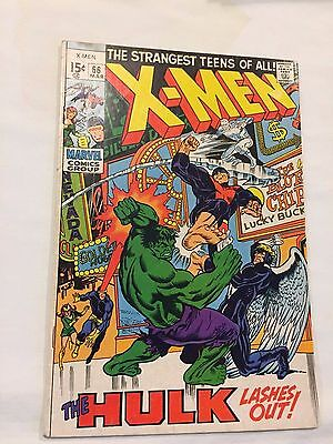 X-Men #66 Vf- 7.5 X-Men Vs Hulk