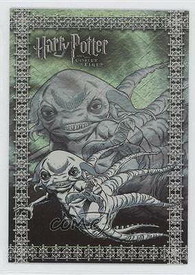 2006 Artbox Harry Potter and the Goblet of Fire Update Foil Puzzle #R2 Card 0a1