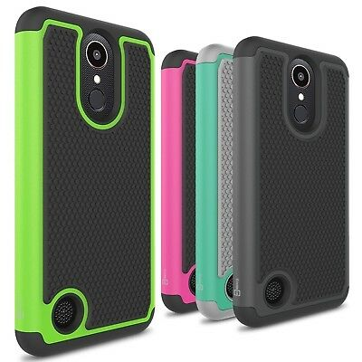 CoverON for LG K20 Plus / K20V / K20 V Case HexaGuard Hard Phone Cover
