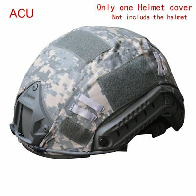 sale Outdoor Airsoft Paintball Tactical Military Combat Fast Helmet Cover ACU