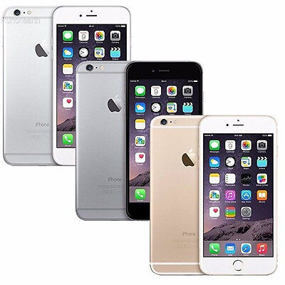 APPLE iPhone 6 Plus 16GB 64GB 128GB 4G LTE Unlocked Smartphone New Sealed