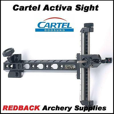 Cartel ACTIVA Target site Alloy for Archery compound and recurve bow RH