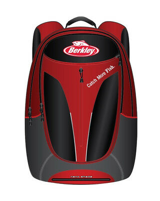 Berkley 30L Fishing Backpack with Multiple Pockets and Integrated Rain Cover