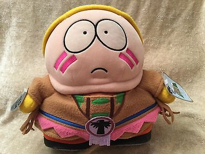 "1998 South Park 11"" Indian Cartman Plush Soft Toy Rare"