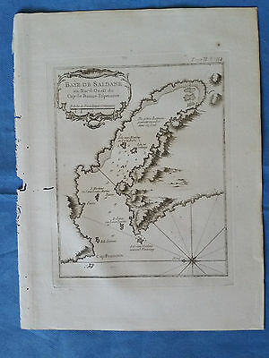 Saldanha Bay, South Africa  - Bellin, 1764