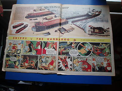 Eagle  Vol1 Cutaway Drawing  15/121950   The Sectional Ship