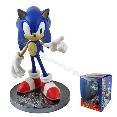 "Sonic The Hedgehog ANNIVERSARY 20th 6.3"" / 16cm PVC Figure New In Box"