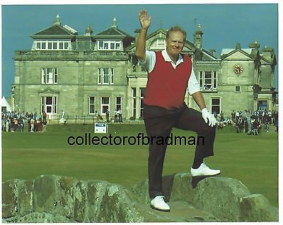 Jack Nicklaus signed 5 pound note & Photo independently authenticated by G.A.I.