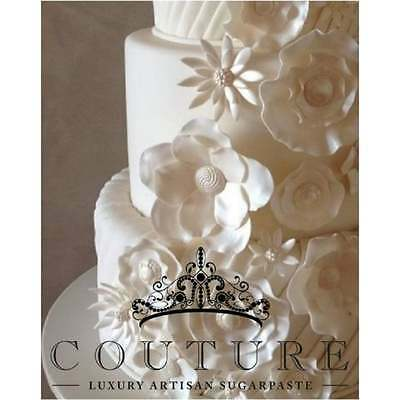 COUTURE 5kg WHITE luxury pro sugarpaste ready to roll cake fondant icing NEW