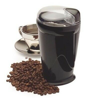 Amplus Black Electric Coffee Bean Nut Spice Grinder Mill 150W