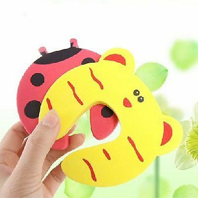 Stopper Animal Door Jammer Safety Finger Protector Guard 5 x Baby Child Kids New