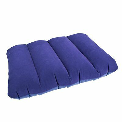 Milestone Camping Inflatable Travel Pillow Blue 88070