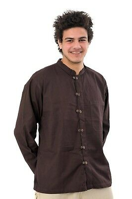 Chemise double bouton homme -