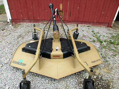 "LANDPRIDE 72"" REAR DISCHARGE FINISH MOWER  finish mower BARELY USED CONDITION"
