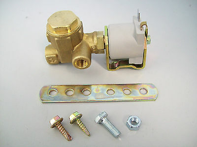 LPG Under bonnet 90 Degree Gas Lock Off Solenoid Valve & Filter