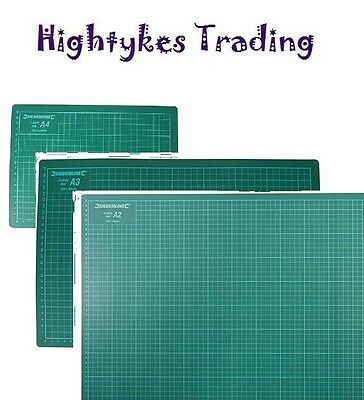 A2 A3 or A4 Cutting Mat Non Slip Printed Grid Lines Knife Board Crafts craft mat