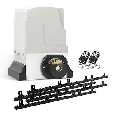 Automatic Electric Sliding Gate Opener with Remote Controls - 1800kg