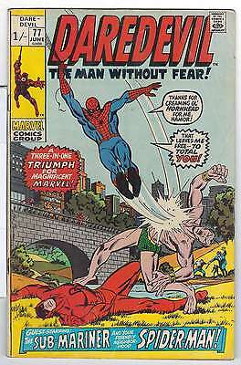 Daredevil (Vol 1) #  77 (VG+) (Vy Gd Plus+) Price VARIANT RS003 Marvel Comics OR