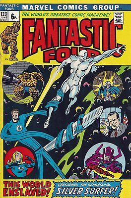 Fantastic Four (Vol 1) # 123 (FN+) (Fne Plus+) Price VARIANT Marvel Comics ORIG
