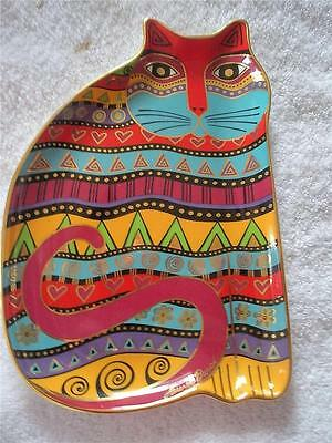 Laurel Burch For The Love Of Cats Plate - Royal Doulton For Franklin Mint - 1995