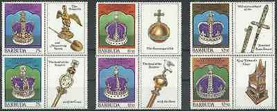 Timbres Famille royale Barbuda 390/5 ** lot 19519