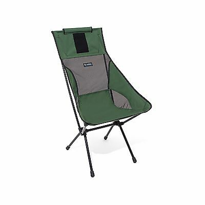 Helinox Sunset Chair Green Lightweight Compact Collapsible Camping Biker Seat