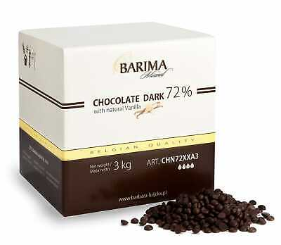 Barbara Barima Extra Dark Chocolate Chips 72% - 1x3kg