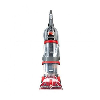 Vax Dual V Upright Carpet and Upholstery Washer Cleaner Machine Only Grey Red