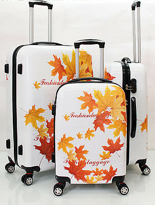 "20"" 24"" 28"" Light 4 Wheel Spinner Hard Shell Suitcase Luggage Trolley Cabin Case"