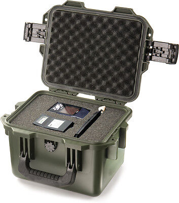 OD Green Hardigg Storm IM2075 Case with foam  includes FREE engraved nameplate