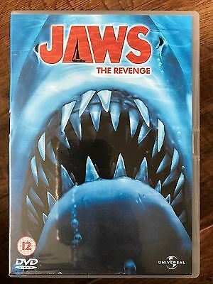 Michael Caine JAWS THE REVENGE ~ 1987 4 Killer Shark Sequel | UK DVD