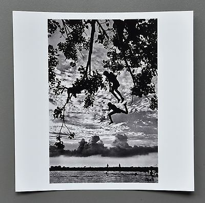 Raghu Rai Signed Magnum Archival Photo Print 15x15cm Boys 2013 India Tree Series
