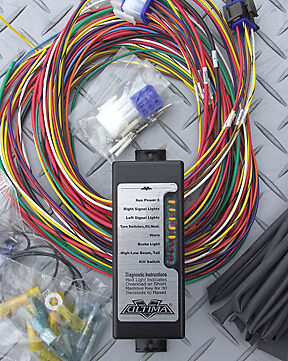 Ultima Complete Electronic Wiring System w/ LED for Harley and Custom Models