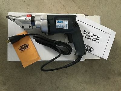 Kett Kd-400 18 Ga Power Shears New Never Used
