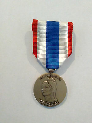Original French Medal for the Military Protection of the Territory
