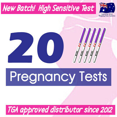 20x Early Pregnancy Tests High Sensitive hCG Urine Strips Fertility OPK HPT Kit