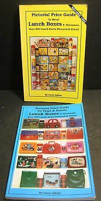 (2) vintage LUNCH BOX PRICE GUIDES LOT ~1100 metal / plastic collectibles ~NICE!