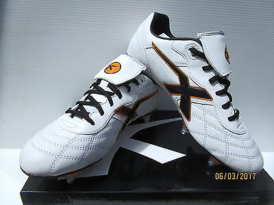 X  Blades Mens Legend Sleek 12 Screw In Studs Football Boots Size 9 Usa 8 Uk