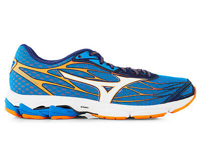 Mizuno Men's Wave Catalyst Shoe - Directoire Blue/Orange