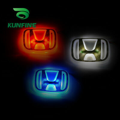 POP 3 Colors Car led emblem led mark car led logo for Honda ACCORD 2008-2009