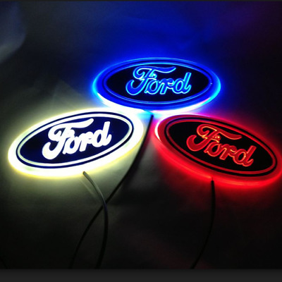 5D car LED badge light car led emblem car logo for Ford FOCUS in multi-colors