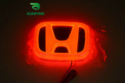 new car LED badge light car led emblem car logo for HONDA CIVIC multi-colors