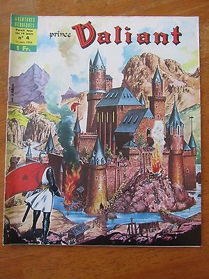 Ancienne Bd Prince Valiant N°4 1966 Remparts