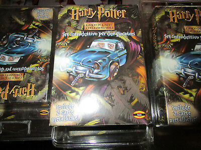 Harry Potter Two Player Starter Set TCG chambre of secret camera dei segreti ITA