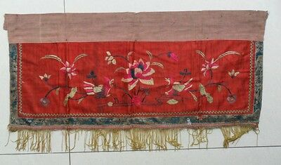 Chinese old hand embroidery curtain