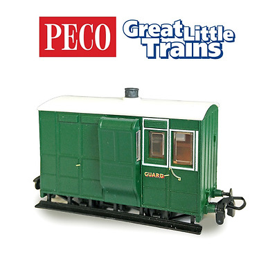Peco GR-535 Freelance 4-Wheel Brake Coach with Buffers OO-9 Gauge