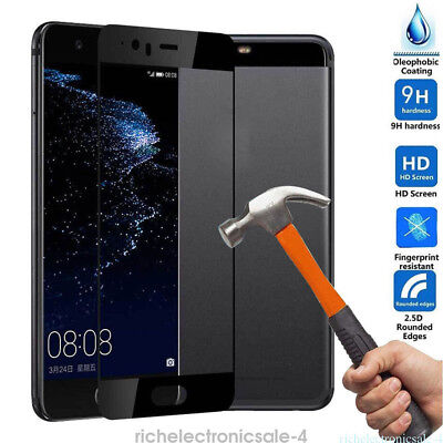 Full Screen 100% Tempered Screen Glass Protector Protective Film For Huawei P10