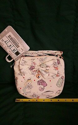 Alice in Wonderland Animator Shoulder bag Disney Store USA purse new