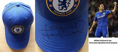 Official Chelsea Cap Signed by Frank Lampard (10373)
